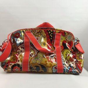 hadaki Bags - Hadaki Coated Canvas Paisley Print Duffle Bag